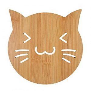 Dessous de plat / Verre / Bouteille en bois