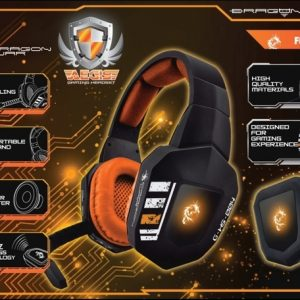 Casque Stéréo Dragonwar Aegis Wireless Gaming