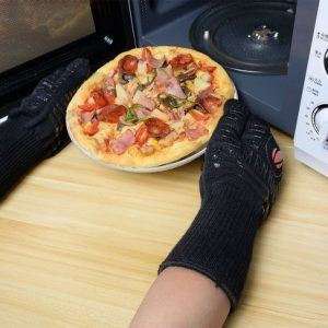 Paire de Gants cuisine ou barbecue anti-brûlure et anti-coupure