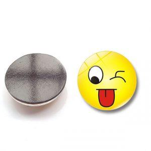 Lot de 6 ou 12, 3D Magnet Frigo Aimant Frigo Aimant Réfrigérateur Smiley