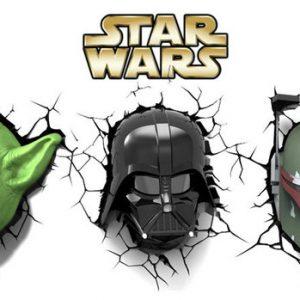 Lampe 3 D star Wars