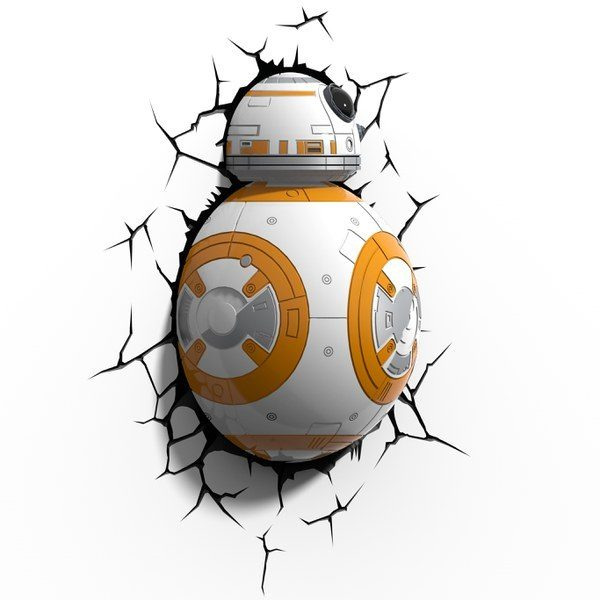 Photo veilleuse Star Wars BB8