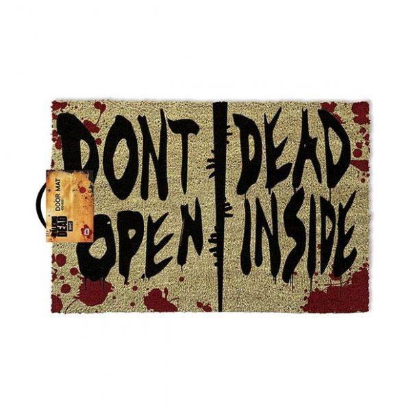 Photo du tapis de d'entrée The Walking Dead