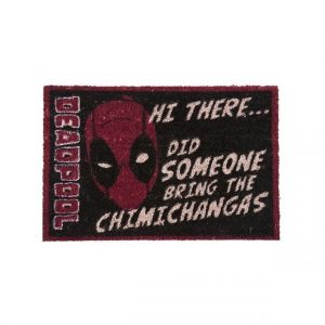 Deadpool – Tapis de porte Hi There… Did Someone Bring the Chimichangas