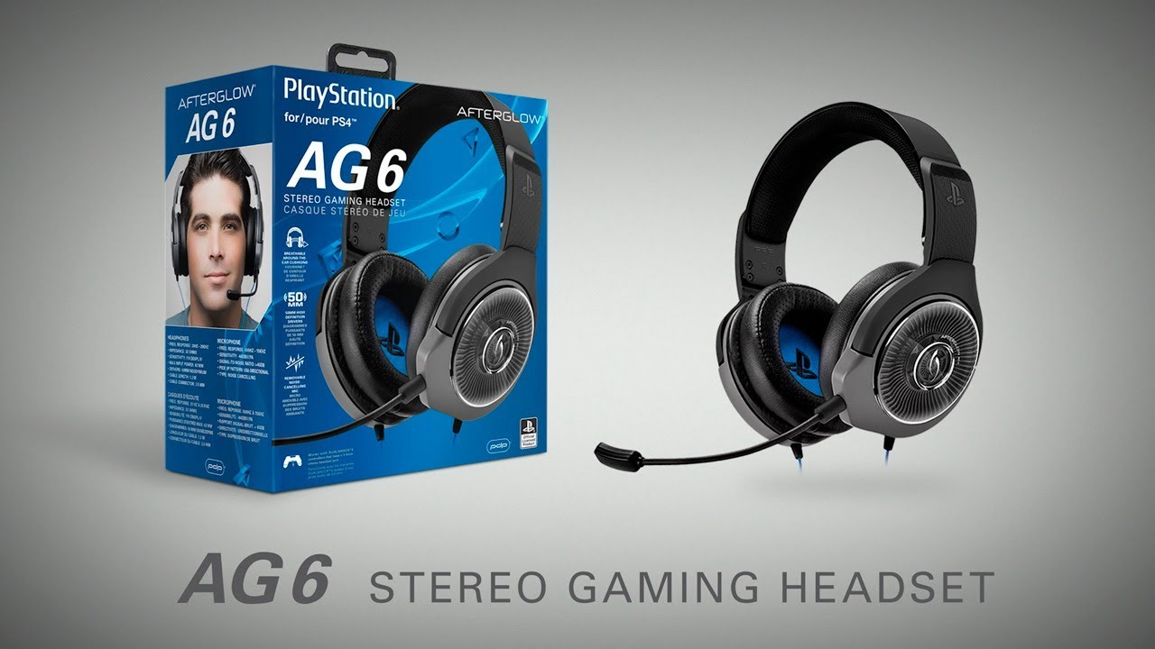 casque afterglow ag6 ps4