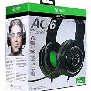 Afterglow AG 6 Casque stéréo filaire pour Xbox One – noir