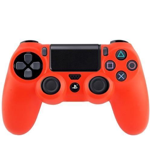 Photo de la house manette PS4 Rouge