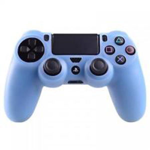 Housse Manette PS4 ou Xbox One Bleue Clair