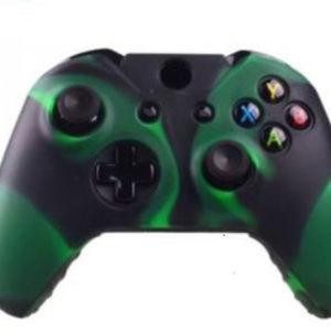 Housse Manette PS4 ou Xbox One Vert/Noir