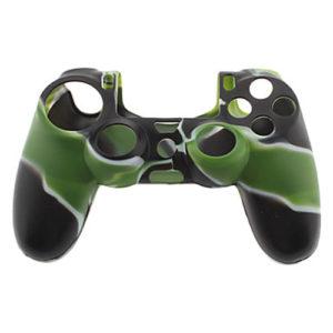 Housse Manette PS4 ou Xbox One Noir/Vert
