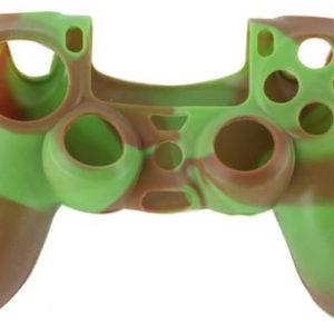 Housse Manette PS4 ou Xbox One Marron/Vert