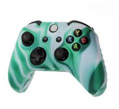 Housse Manette PS4 ou Xbox One Vert/Blanc