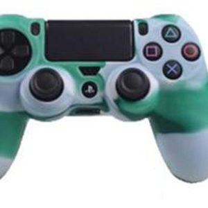 Housse Manette PS4 ou Xbox One Vert/Blanc