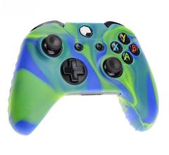 Housse Manette PS4 ou Xbox One Vert/Bleue