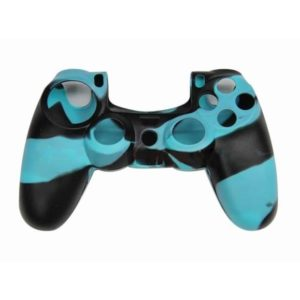 Housse Manette PS4 ou Xbox One Noir/Bleu