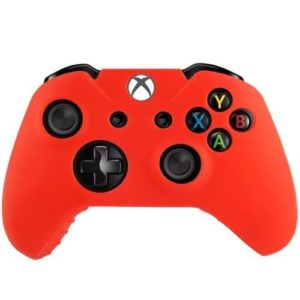 Housse Manette PS4 ou Xbox One Rouge