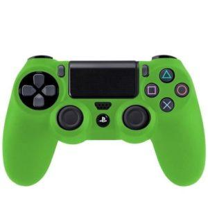 Housse Manette PS4 ou Xbox One Verte