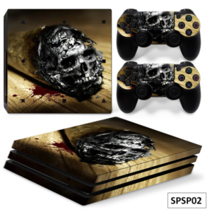 Stickers console PS4 PRO (2 stickers manettes inclus)
