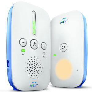 Philips Avent  Babyphone Dect Blanc, Pile et Secteur