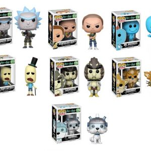 Figurine POP Rick And Morty