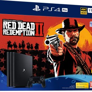 PS4 PRO 1TO + Read Dead Redemption 2