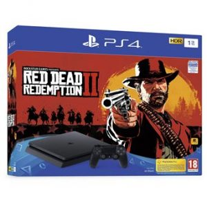 PS4 Slim 1TO + Read Dead Redemption 2