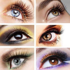 Faux Cils Magnétiques/Idéal maquillage rapide/Sans colle Classic 1 aimant