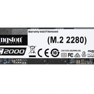 KINGSTON SSD KINGSTON KC2000 2T NVMe M.2 2280