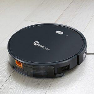 Robot aspirateur/laveur automatique Neatsvor connecté compatible enceinte connectée Alexa et autres 1800PA Application en français