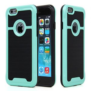 Coque Iphone 7 Silicone Rigide – Couleur : Blanc, Bleu, Rouge, Or Rose, Vert