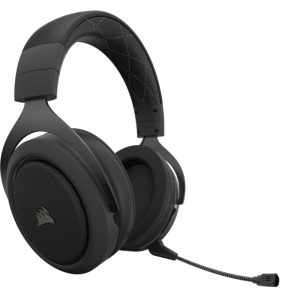 Corsair HS70 PRO CARBON WIRELESS Casque Gaming Sans Fil