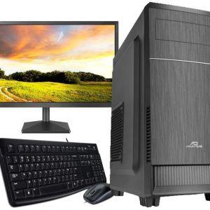Ordinateur de Bureau/Travail assemblé par G-MOTIONS en France/Processeur Pentium G6400 4GHZ – 500 Go SSD -Windows 10 Pro/ Pack Complet