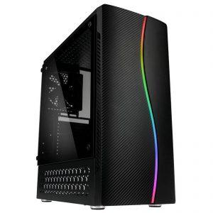 G-MOTIONS PC Gamer ACCES APOPHIS • Intel i3-10100F 4 X 3.6 Ghz (up 4.3)•GTX1650 4Go •16Go DDR4• 120Go SSD • 1To • Win10 • WiFi • Unité Centrale Ordinateur de Bureau PC Gaming