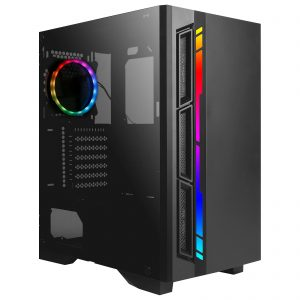 G-MOTIONS PC Gamer Python Ryzen 5 3600 6 X 3.6 Ghz (up to 4.2) / 32 GO  RAM 3200Mhz / GTX 1660 Super/ 480 GO SSD / 1 To HDD / CM: MSI MAG VECTOR A520M / Win10 / USB 3.0 Ordinateur de Bureau