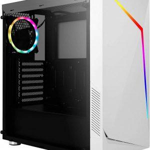 G-MOTIONS PC Gamer APOPHIS • Intel i5 9400F 6 X 2.9/4.1 Ghz • GTX1650 4Go • 16Go DDR4 • 120Go SSD • 1To • Win10• WiFi • USB3.0 Unité Centrale Ordinateur Bureau PC Gaming