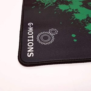 G-MOTIONS Tapis de Souris Gaming Brodé Medium : 50 x 30 cm