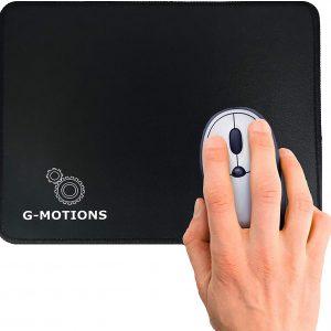 G-MOTIONS Tapis de Souris Gaming Brodé Standard