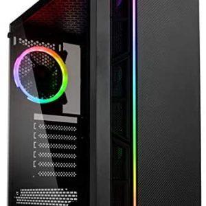 G-MOTIONS PC Gamer Python Ryzen 5 2600X / 16 GO RAM/GTX 1660/250 GO SSD M.2/1 to HDD / Win10 / USB 3.0 Ordinateur de Bureau (Ryzen 3600/16 Go Ram/ 240SSD/GTX1660)
