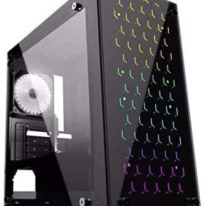 G-MOTIONS PC Gamer Python / I5-10400f (2.9 GHz / 4.3 GHz) / 16 GO RAM/GTX 1660/250 GO SSD M.2/1 to HDD / Win10 / USB 3.0 Ordinateur de Bureau